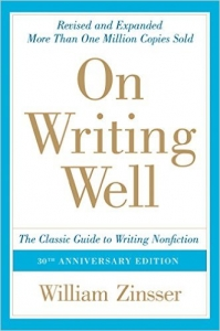 ON WRITING WELL – WILLIAM ZINSSER