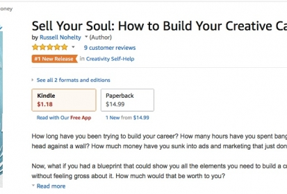 SELL YOUR SOUL- RUSSELL NOHELTY