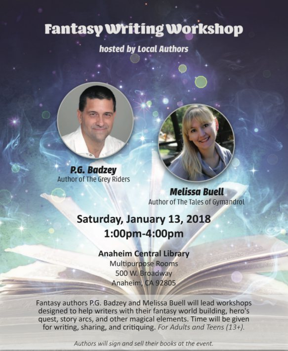 FREE FANTASY WRITING WORKSHOP FOR WRITERS
