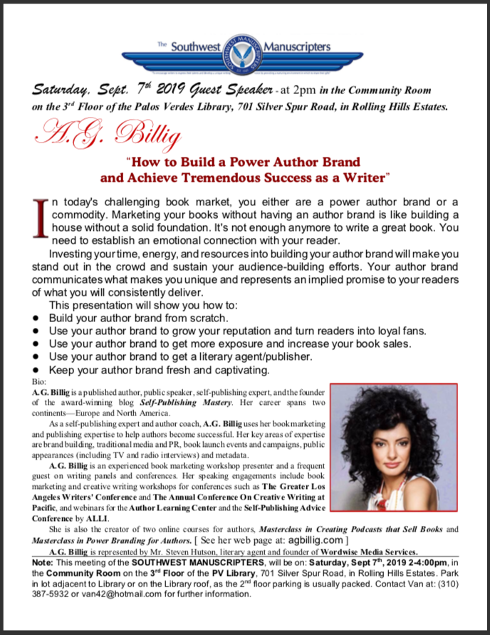 HOW TO BUILD YOUR AUTHOR BRAND AND ACHIEVE TREMENDOUS SUCCESS AS A WRITER