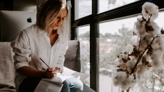STRESS LESS, WRITE MORE